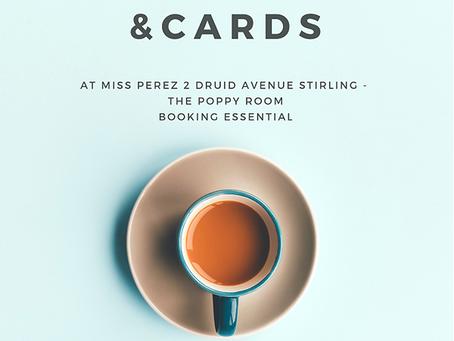 Coffee, Cake & Cards