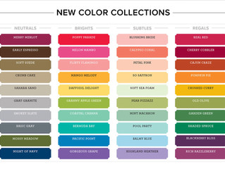 New Colour Collections & New Classic Stampin' Pads