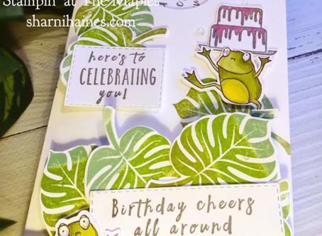 Stampin Dreams Blog Hop February  2019 - Birthday Card