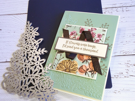 Embossing with Your Dies using the Stampin' Up! BigShot Silicone Mats.