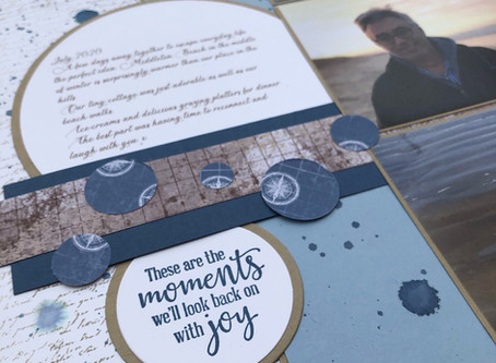Scrapbooking Global Blog Hop Sketch - August 2020