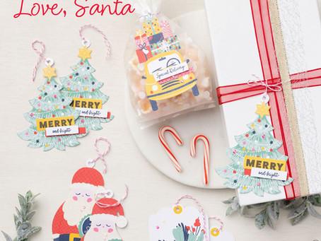 New Tag Kit for Christmas - Love, Santa