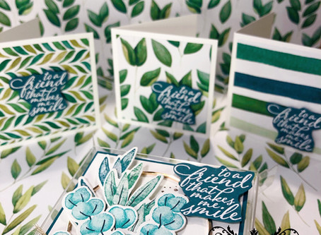 Stamping Sunday Blog Hop Forever Greenery - July 2020