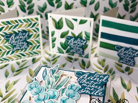 Stamping Sunday Blog Hop Forever Greenery - July 2020