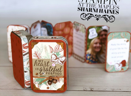 Stamping Sunday Blog Hop Gilded Autumn - September 2020