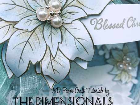 The Dimensionals December 2020 Tutorial Christmas Ornaments.