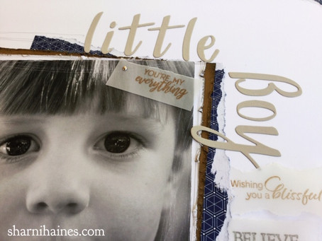 Scrapbooking Global September 2019 Blog Hop - What Little Boys are Made Of