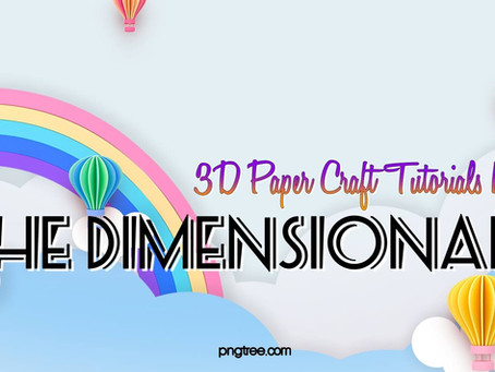 Introducing The Dimensionals - Free Tutorial Bundle Giveaway.
