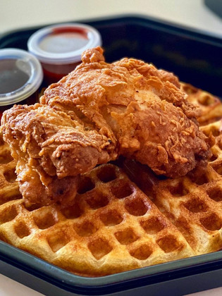 Legendary chicken and waffles