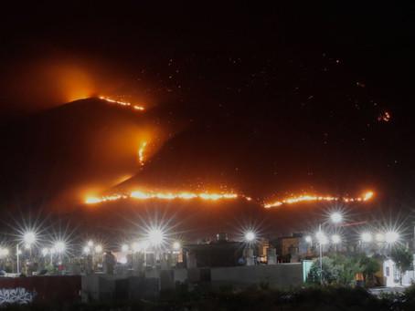 En tres municipios de Coahuila hay cuatro incendios forestales activos