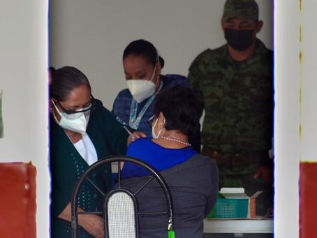 Jueves inicia vacunación a mayores de 40 años en 47 municipios de Puebla entre ellos Huauchinango