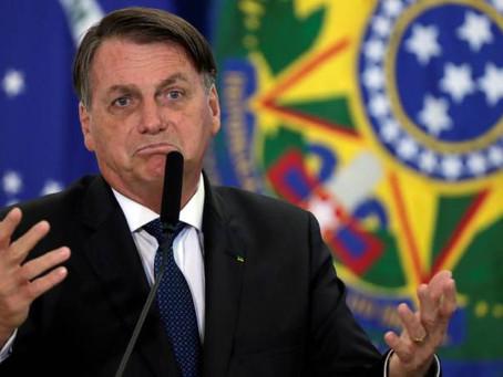 """Según Jair Bolsonaro """" BRASIL ESTA EN BANCARROTA Y NO PUEDO HACER NADA"""", MIENTRAS EL COVID19 AVANZA."""