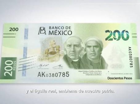 Nuevos billetes de Banxico, entre los más seguros del mundo: UNAM