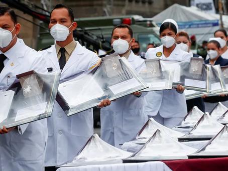 Están listas las medallas Belisario Domínguez se entregará a personal médico por lucha contra covid.