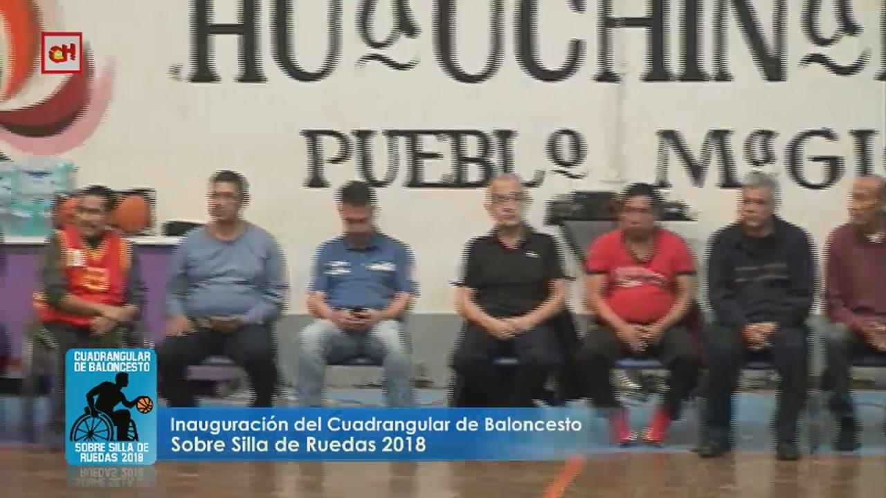 Cuadrangular de Baloncesto Sobre Silla de Ruedas 2018