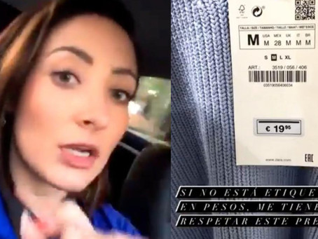 Nace Lady Profeco: exige que le cobren en euros en Metepec