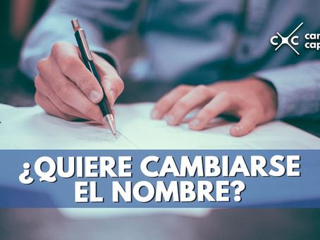 EN PUEBLA SE HABLA SOBRE EL DERECHO A CAMBIAR DE NOMBRE (ES INCONSTITUCIONAL PEDIR DOCUMENTACIÓN).