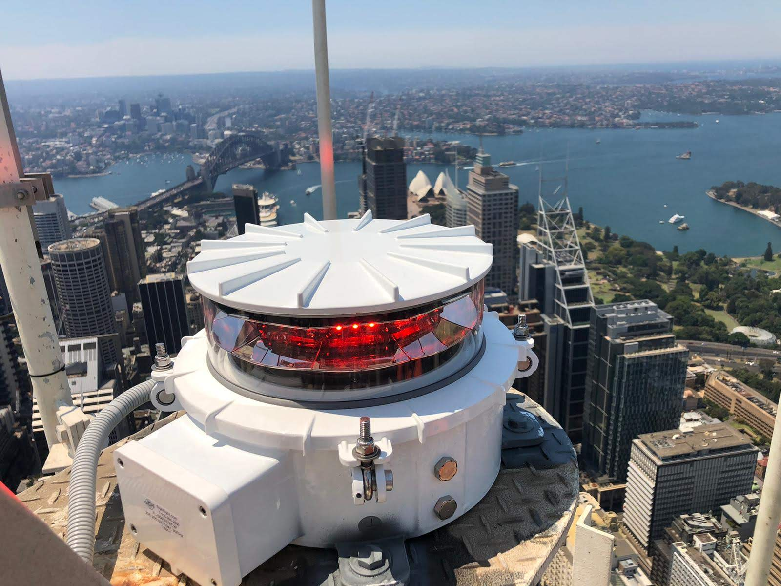 Sydney Westfield Tower Beacon