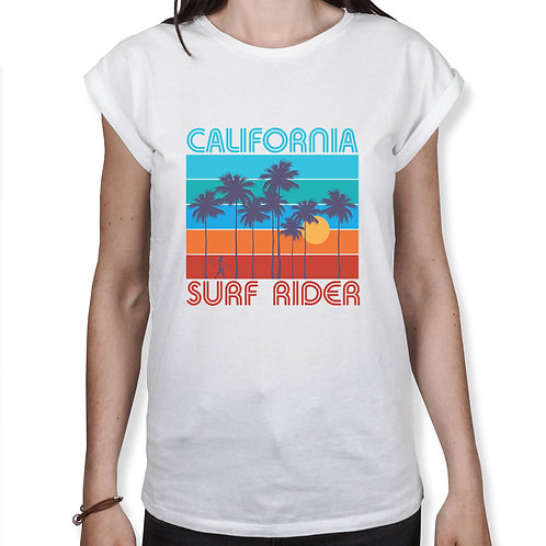 California Surf Rider - Frauen T-Shirt