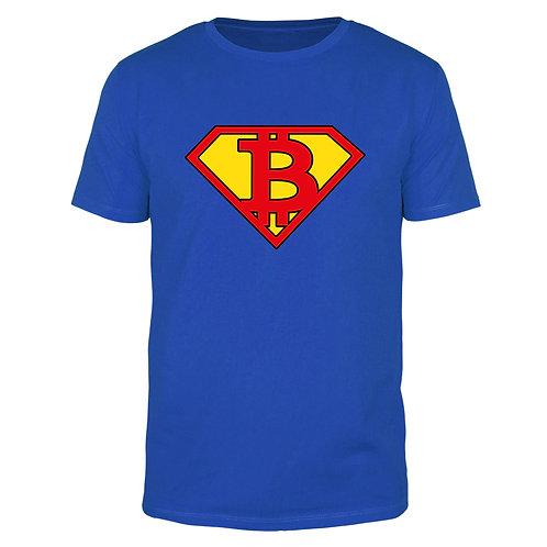 Super Bitcoin - Männer T-Shirt