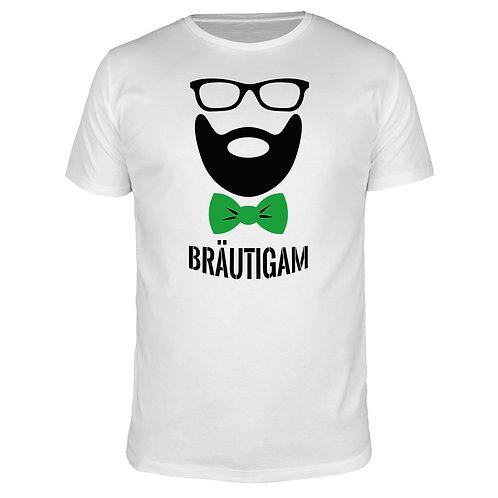 Bräutigam Fliege - Herren T-Shirt