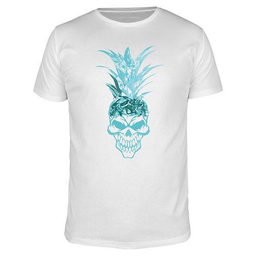 Ananas Skull - Männer T-Shirt