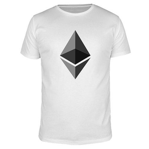 Ethereum Logo - Männer T-Shirt