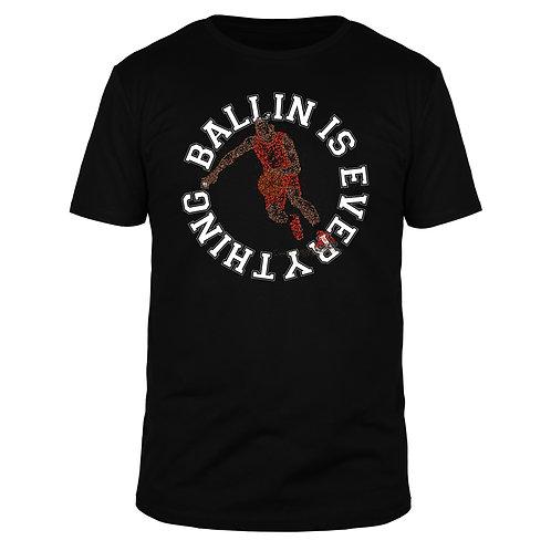 Ballin is everything - Männer T-Shirt