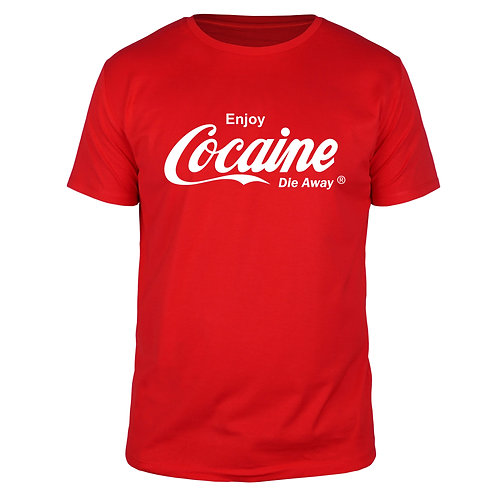 Enjoy Cocaine - Männer T-Shirt