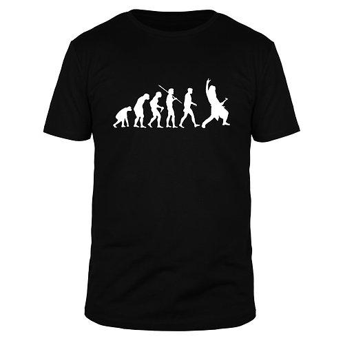 Evolution Rockmusik - Männer T-Shirt