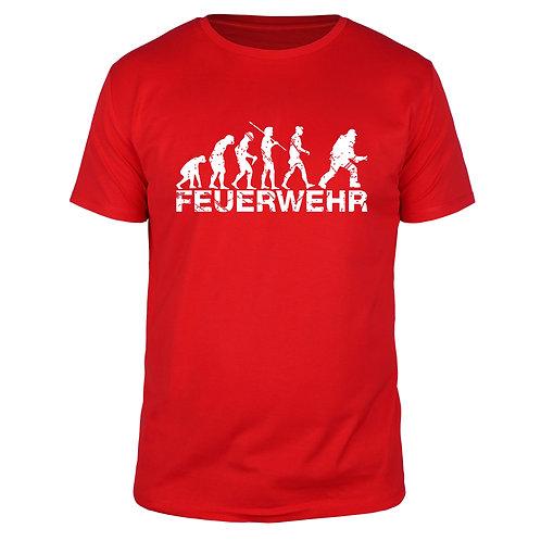 Evolution Feuerwehr - Männer T-Shirt