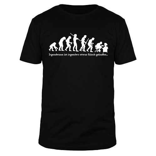 Evolution Computer - Männer T-Shirt
