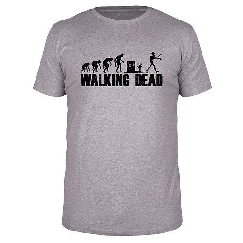 Evolution Walking Dead - Männer T-Shirt