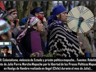 MI: Colonialismo, violencia de Estado y prisión política mapuche