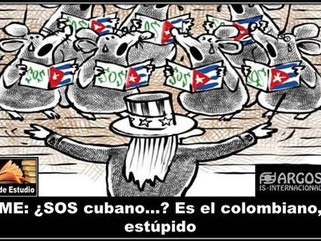 ME: ¿SOS cubano…? Es el colombiano, estúpido
