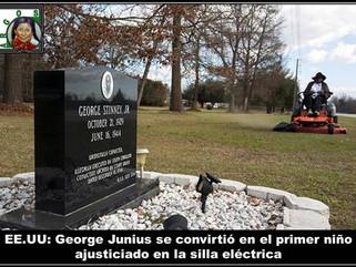 EE.UU: George Junius se convirtió en el primer niño ajusticiado en la silla eléctrica