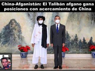 China-Afganistán: El Talibán afgano gana posiciones con acercamiento de China
