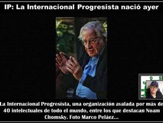IP: La Internacional Progresista nació ayer