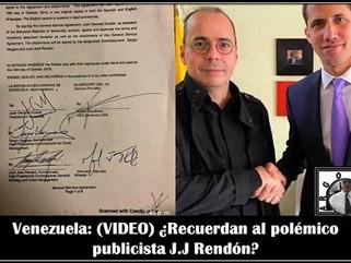Venezuela: (VIDEO) ¿Recuerdan al polémico publicista J.J Rendón?