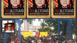 Venezuela: Centenares de venezolanos se concentran en Caracas en rechazo al secuestro...