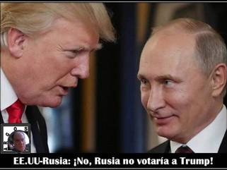 Análisis: ¡No, Rusia no votaría a Trump!