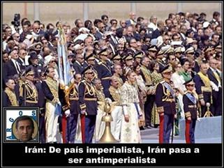 Irán: De país imperialista, Irán pasa a ser antimperialista