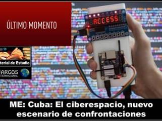 ME: Cuba: El ciberespacio, nuevo escenario de confrontaciones