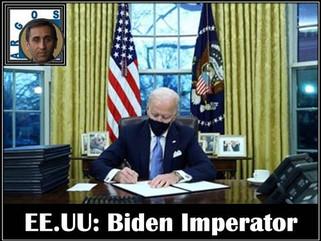 EE.UU: Biden Imperator