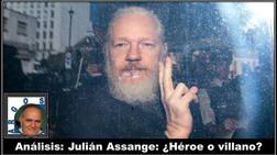 Análisis: Julián Assange: ¿Héroe o villano?