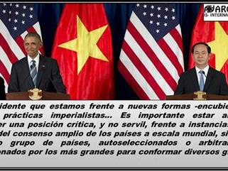 EE.UU-VietNam: ¿Qué hay detrás del levantamiento del embargo militar a Vietnam por parte de EEUU?