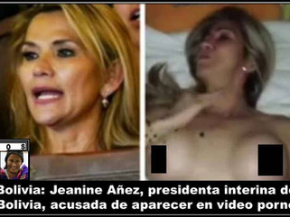 Bolivia: (VIDEO) Jeanine Añez, presidenta interina de Bolivia, acusada de aparecer en video porno