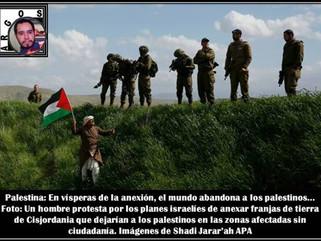 Palestina: En vísperas de la anexión, el mundo abandona a los palestinos