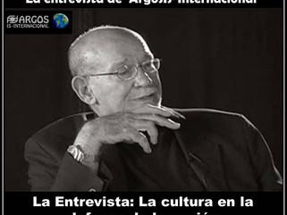 La entrevista de 'ArgosIs-Internacional' La Entrevista: La cultura en la defensa de la nación