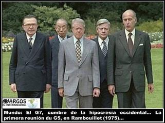 Mundo: El G7, cumbre de la hipocresía occidental
